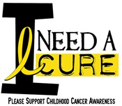 I Need A Cure Juvenile Cancer T-Shirts & Gifts