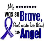 Angel 1 COLON CANCER T-Shirts & Apparel