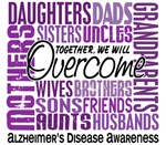 Family Square Alzheimer's Disease Shirts