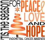 Christmas 1 Endometrial Cancer Cards Ornaments Gif