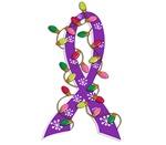 Christmas Lights Ribbon Domestic Violence Gifts
