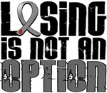 Losing Is Not An Option Diabetes Shirts