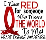 Means World To Me 1 Heart Disease Shirts