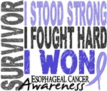 Survivor 4 Esophageal Cancer Shirts and Gifts