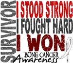 Survivor 4 Bone Cancer Shirts and Gifts