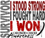 Survivor 4 Carcinoid Cancer Shirts and Gifts