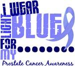 I Wear Light Blue 6.4 Prostate Cancer Shirts