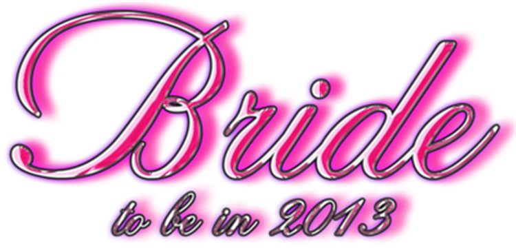 Bride Z to be in 2013