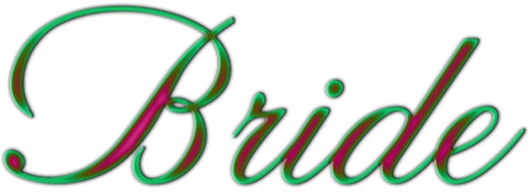 Bride Pink And Green