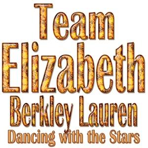 Team Elizabeth Berkley Lauren Dancing with the Sta
