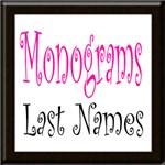 Monograms Last Names