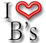 I Heart B Names