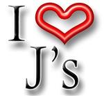 I Heart J Names
