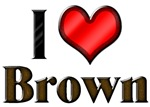I Heart Brown