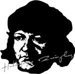 Ulrich Zwingli Portrait with Signature