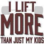 I Lift More than Just My Kids
