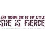 She is Fierce - Grunge