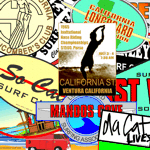 Classic Surf Stickers