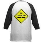 No Tailgating Sign