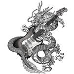Dragon guitar 2