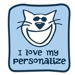 Personalized Love My Cat Design