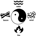 Water, Wind, Fire and Bacon