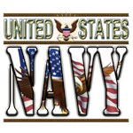 US Navy Eagle Flag