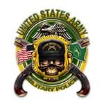 US Army MP Skull Cross Pistols