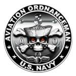 USN Aviation Ordnanceman Skull