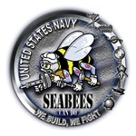 USN Seabees We Build We Fight Can Do