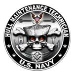 USN Hull Maintenance Technician Skull HT