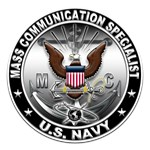 USN Mass Communication Specialist Eagle MC