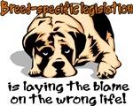 Breed-specific legislation blame