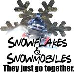 Snowflakes & Snowmobiles