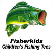 Fisherkids Fishing T-shirts & Apparel
