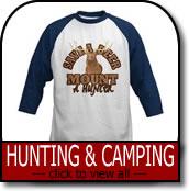 Hunting & Camping T-shirts & Gifts