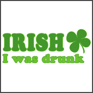 Irish I was Drunk St. Patrick's Day Funny Shirt