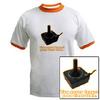 You Never Forget Your First Time - Atari T-Shirt