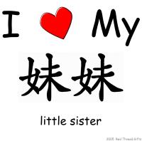 I Love My Mei Mei (Little Sister)