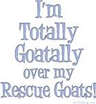 Totally Goatally Rescue Goat