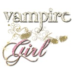 Vampire Girl Glitter