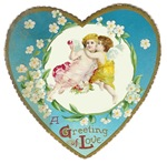 Victorian Valentines A Greeting Of Love