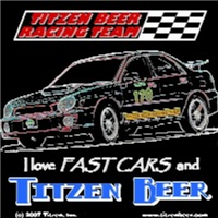 Titzen Beer Racing Team - Hot Import (Outline)