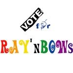 Vote for rainbows