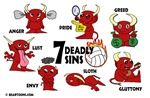 Seven Deadly Sins Volleyball