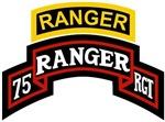 75th Ranger tab