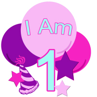 Pastel Colors I am one birthday shirt and more