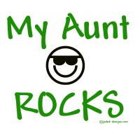 My Aunt Rocks Green Shirts