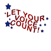 Vote Let Your Voice Count Gifts