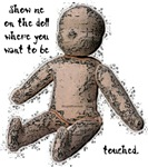 Show me on the doll...